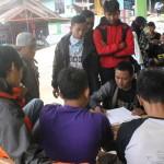 pendaki di data di pos Bambangan