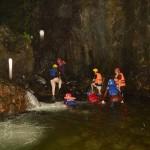 susur sungai arus Watu Mujur Panusupan