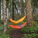 tiduran di hamoc kampung Kurcaci