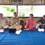 sarasehan pengembangan desa wisata dengan Dinporapar Kab Semarang
